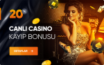 %20 Canlı Casino Kayıp Bonusu