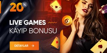 %20 Live Games Bonusları