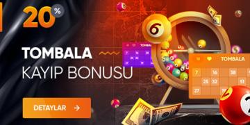 %20 Tombala Kayıp Bonusları