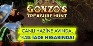anadolu casino gonzos treasure hunt bonus
