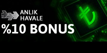 anlik havale bonus