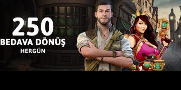 youwin 250 free spin bonusu
