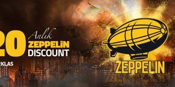 zeppelin anlik yuzde20 discount