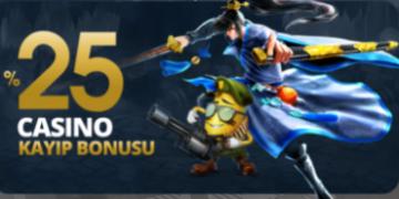 25 casino kayip bonusu
