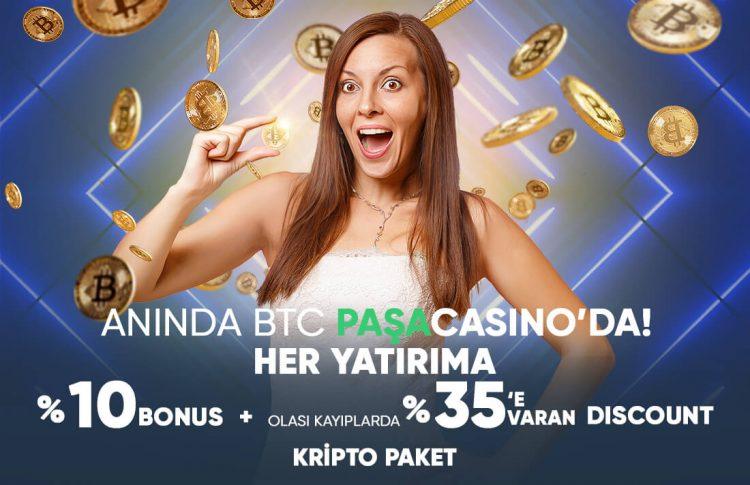pasacasino-kripto-yatirim-bonusu
